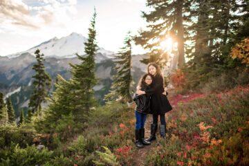 Mt Baker Mountain Adventure Family Photography
