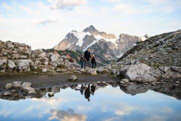 Mt Baker Mountain Adventure PNW Family Photographer