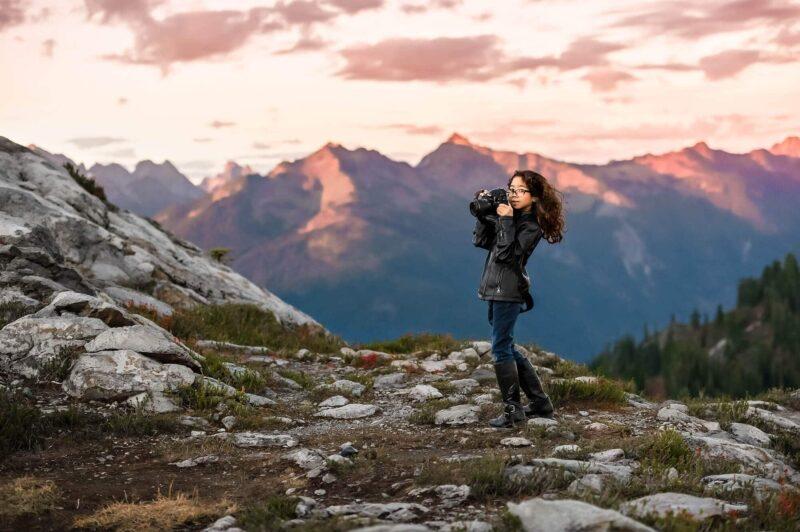 Mt Baker Mountain Adventure PNW Family Photography