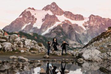 Mt Baker Mountain PNW Family Photographer