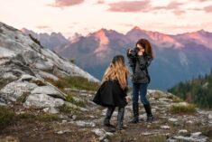 Mt Baker PNW Adventure Family Photography