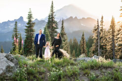 Mt Rainier Mountain PNW WA Maternity Photography