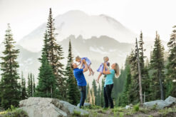 Mt Rainier PNW Mountain Family Photographer