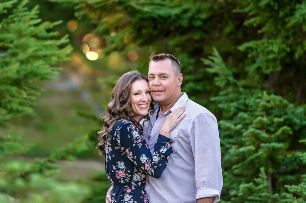 Seattle Couple Engagement Photography Mt Rainier