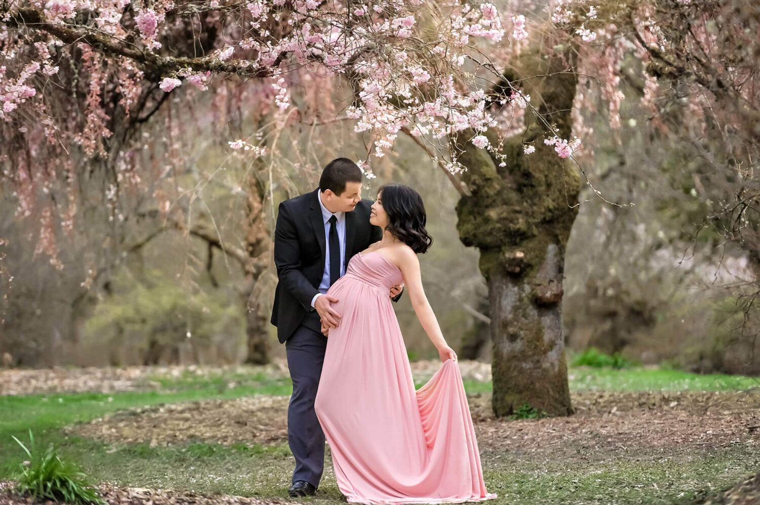 Studio Gown Pink Maternity