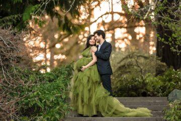 Washington Arboretum Park Seattle Maternity Photographer