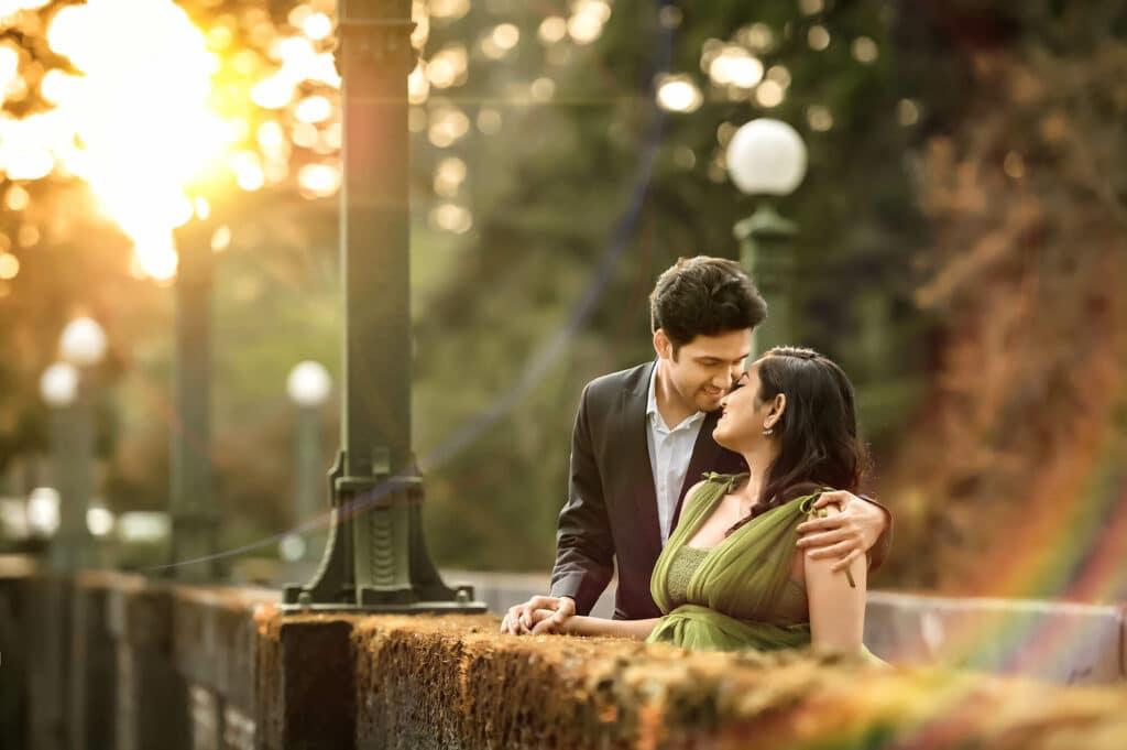 Washington Arboretum Seattle Couple Engagement Photographer