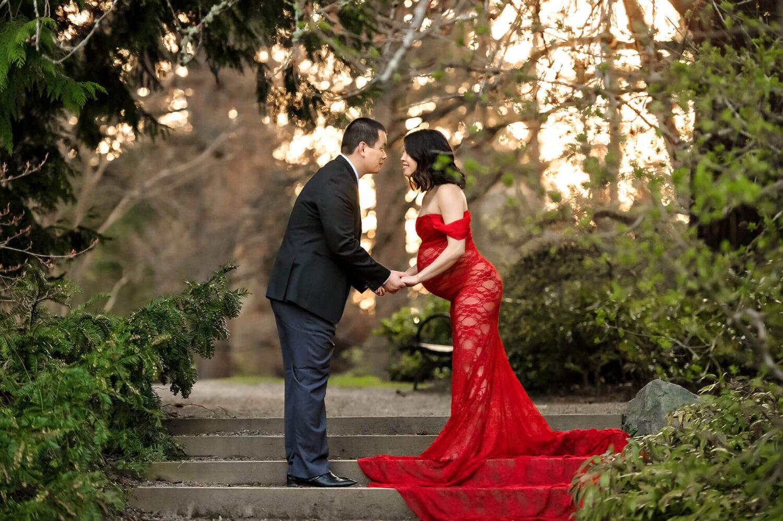 Washington Arboretum Seattle Maternity Photographer