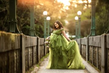 Washington Arboretum Seattle Pregnancy Photographer