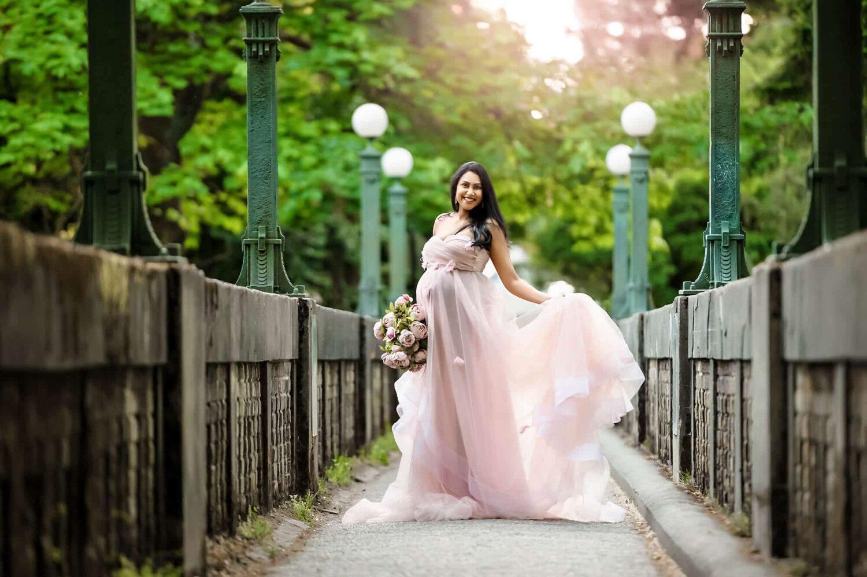Washington Park Arboretum Maternity Photography