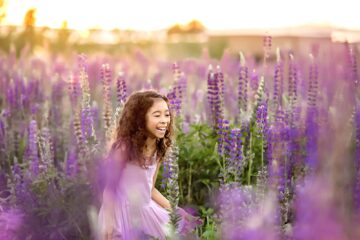 Lupine Fields Seattle Family Photographer