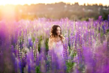 Lupine Meadow Seattle Family Photographer