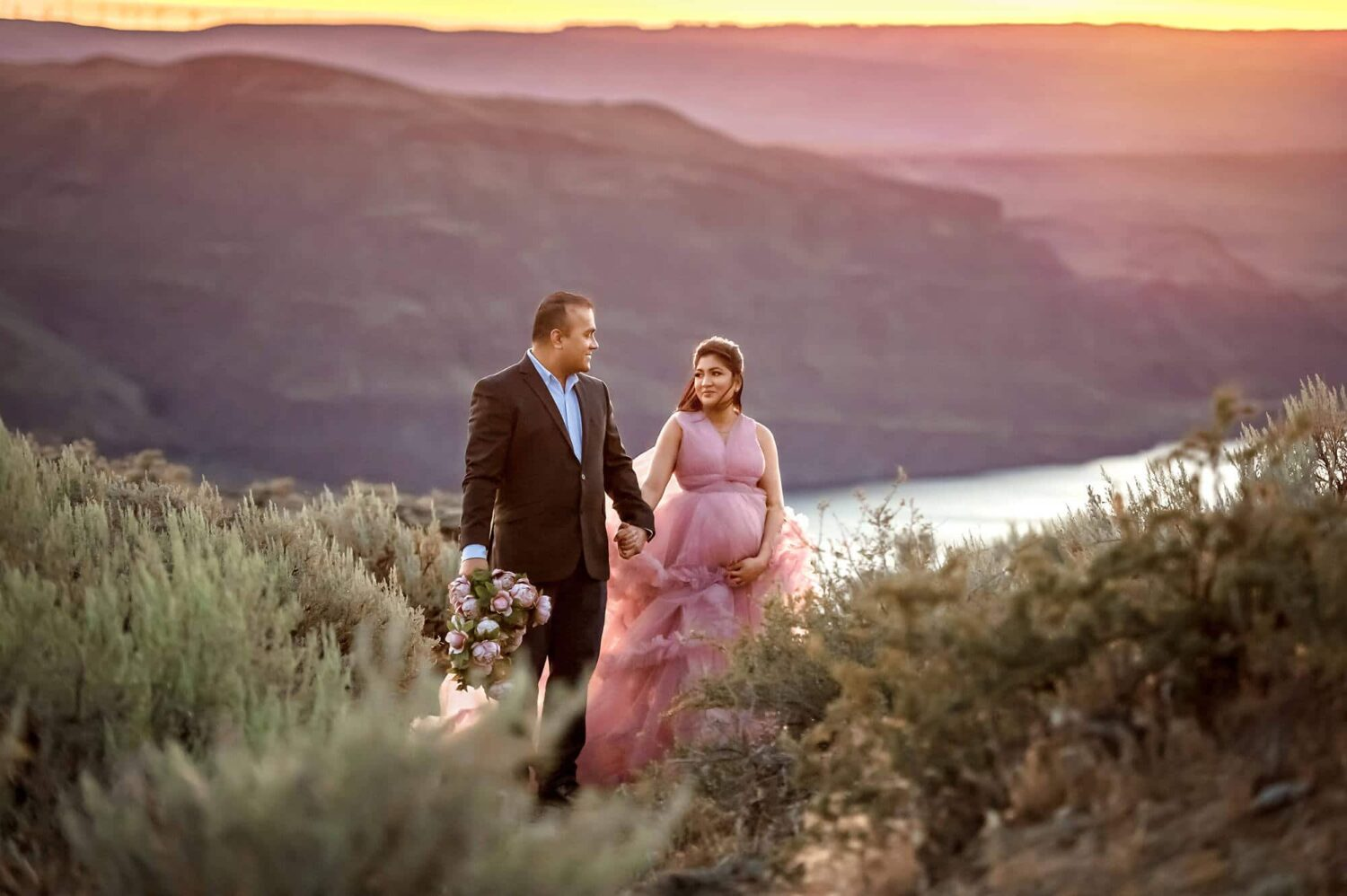 Frenchman Coulee adventure couple photographer