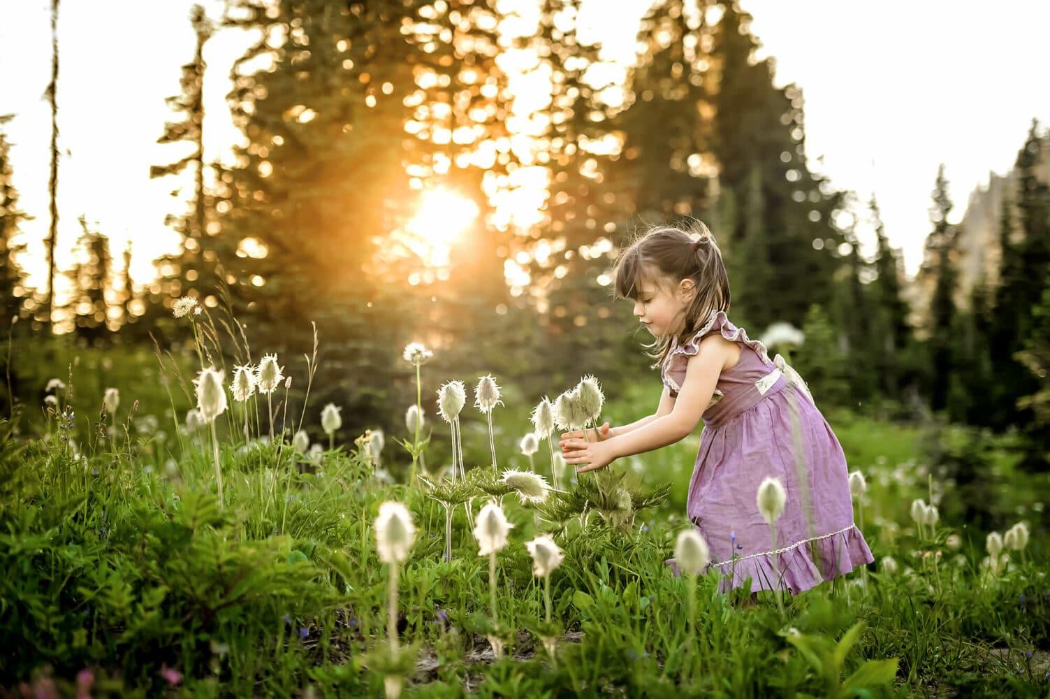Mt Rainier Seattle Child Photographer