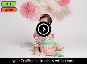 Eden Bao Photography's cake smash portfolio